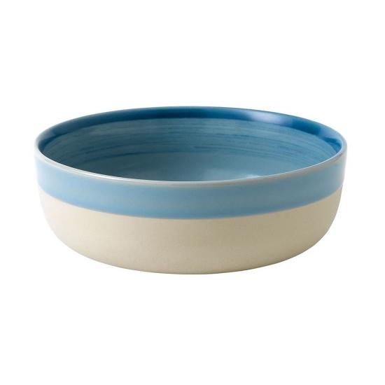 ED Ellen DeGeneres collection - Bowl 17cm Brushed Glaze Polar Blue