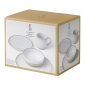 ED Ellen DeGeneres collection - 16 Piece Set Brushed Glaze Soft White