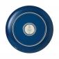 ED Ellen DeGeneres collection - Plate 21cm Brushed Glaze Cobalt Blue