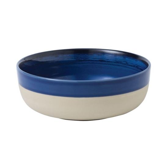 ED Ellen DeGeneres collection - Bowl 17cm Brushed Glaze Cobalt Blue