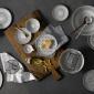 ED Ellen DeGeneres collection - Bowl 14cm Grey Accents Set of 4