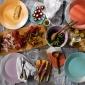 1815 Dinner Plates set of 4 Brights 28cm