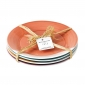 1815 Side Dinner Plates Set of 4 Brights 23cm