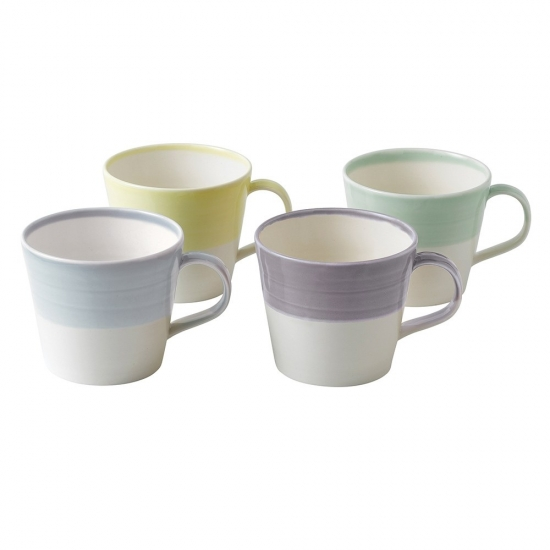 1815 Tapas Set Of 4 Mugs Cool Colours