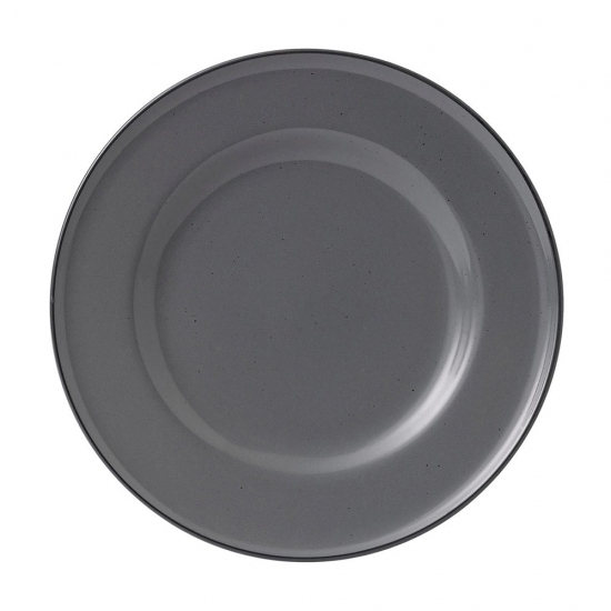 Gordon Ramsay Union Street Cafe Grey Plate 27cm