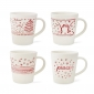 ED Ellen DeGeneres crafted by Royal Doulton Christmas Accents Mug 450ml (Set of 4)