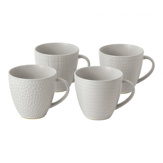 Gordon Ramsay Maze Grill White Mug 295ml Mixed (Set of 4)
