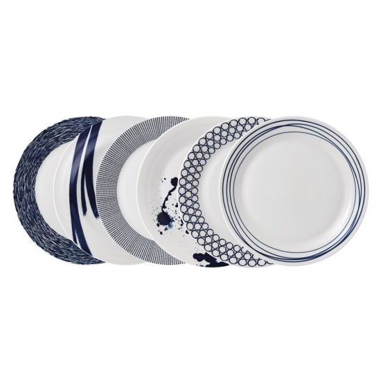 Pacific Plate 28.5cm (Set of 6)