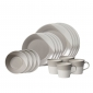 Bowls of Plenty 16 Piece Grey
