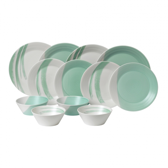 1815 BOLD Aqua 12 Piece Set
