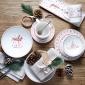 ED Ellen DeGeneres crafted by Royal Doulton Christmas Platter 30cm