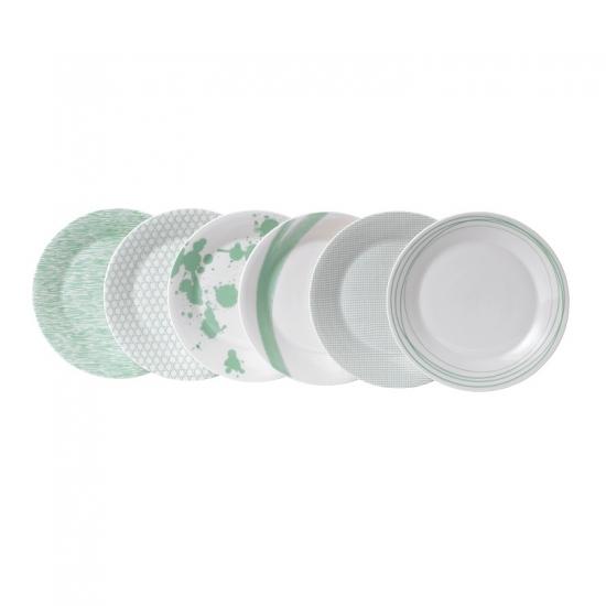 Pacific Mint Plate 23cm Set of 6