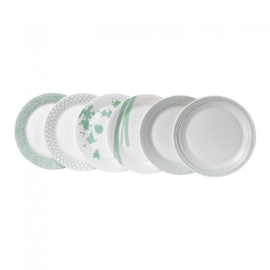 Pacific Mint Plate 28.5cm Set of 6