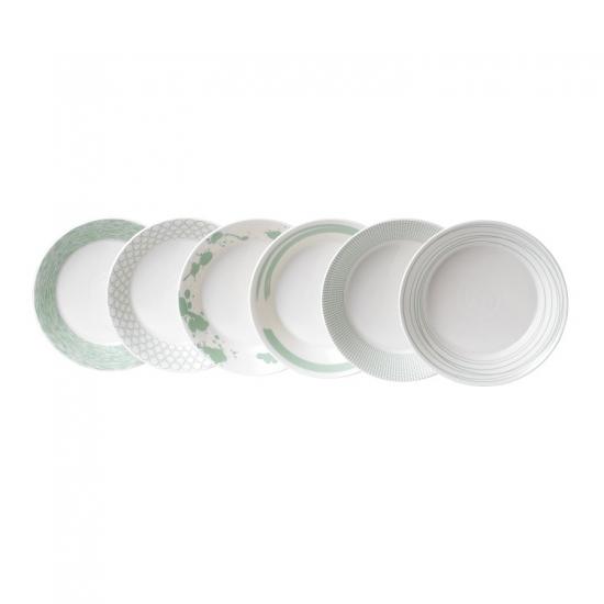 Pacific Mint Pasta Bowl Set of 6