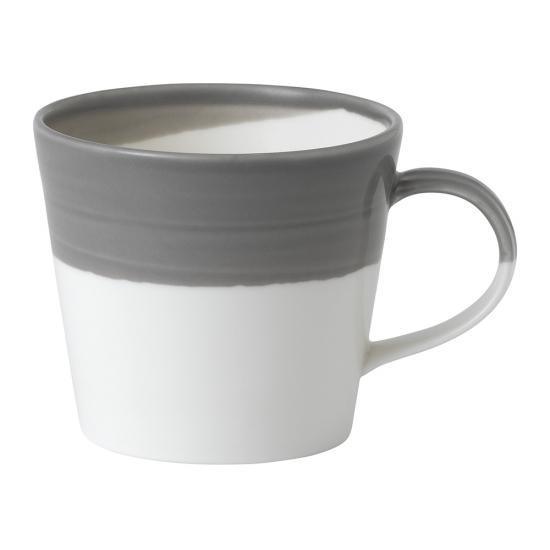 Bowls of Plenty Mug Dark Grey 420ml