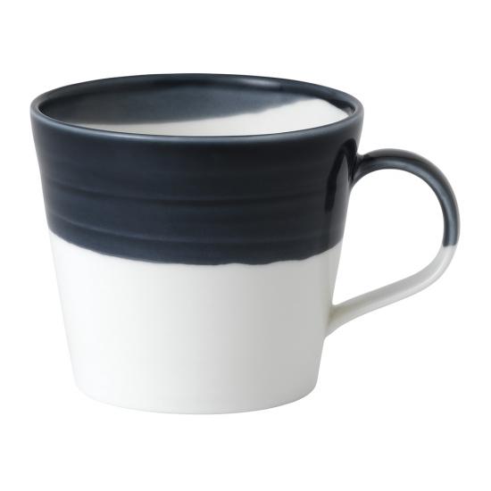 Bowls of Plenty Mug Dark Blue 420ml