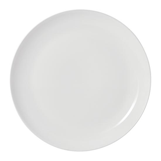 Olio White Dinner Plate 27cm by Barber Osgerby