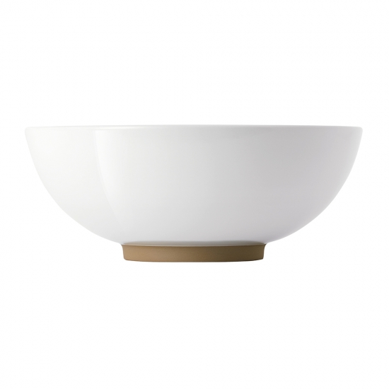 Olio White Serving Bowl 25.5cm by Barber Osgerby