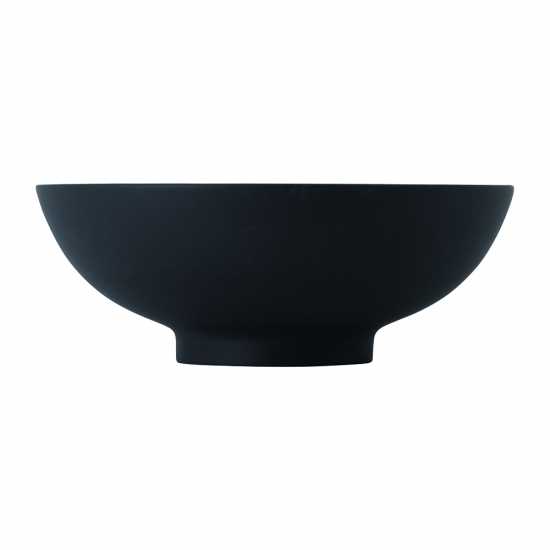 Olio Black Serving Bowl 21cm by Barber Osgerby