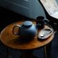 Olio Black Teapot 14cm by Barber Osgerby