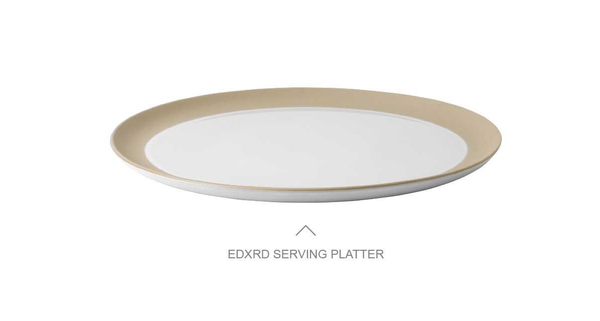 EDXRD SERVING PLATTER