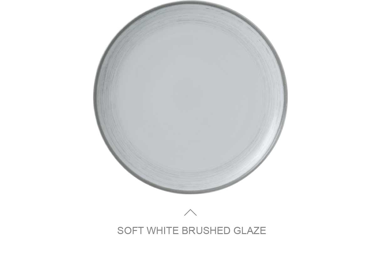 Soft White Brushed Glaze