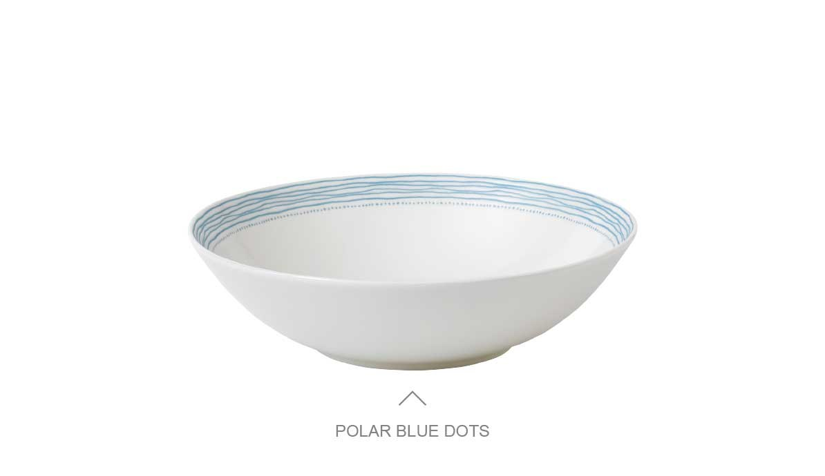 Polar Blue Dots