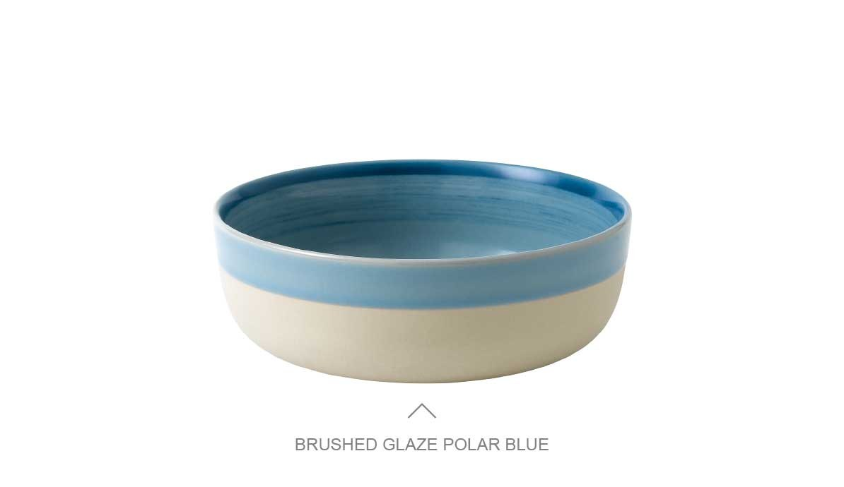 Brushed Glaze Polar Blue