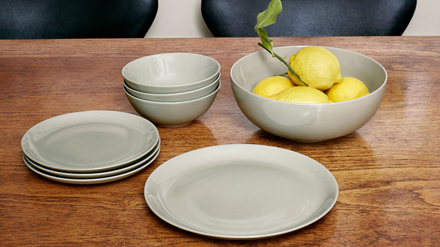 Duck Egg Green Tableware Collection
